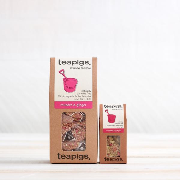 Tea Pigs – Rhubarb & Ginger