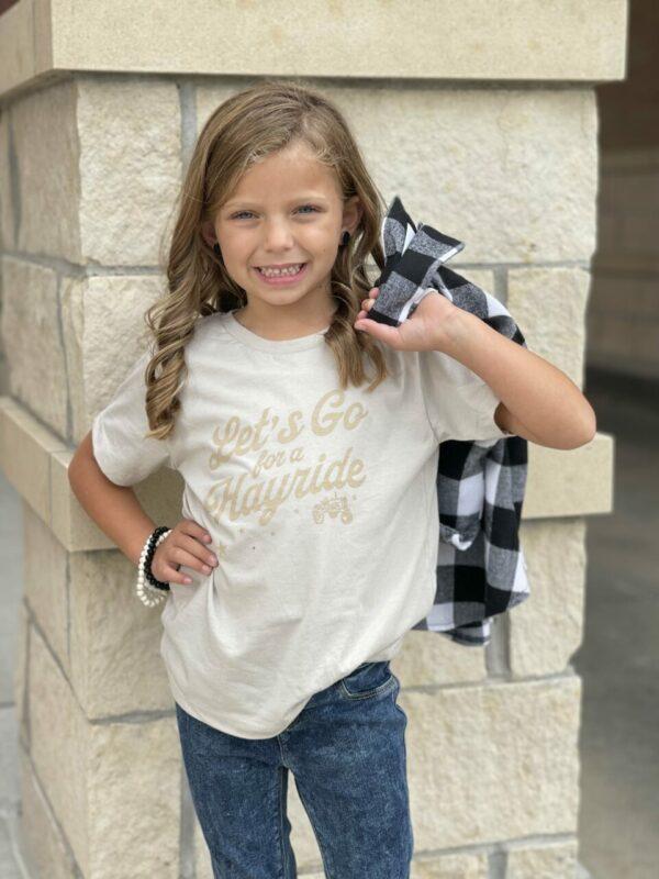 Hayride Tee-Little Miss