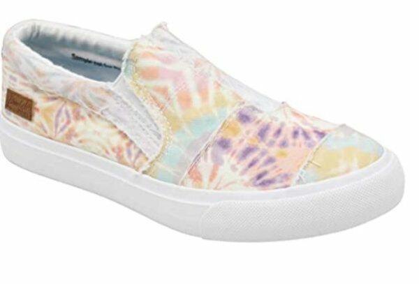 sandstone tie dye maddox slip on sneaker