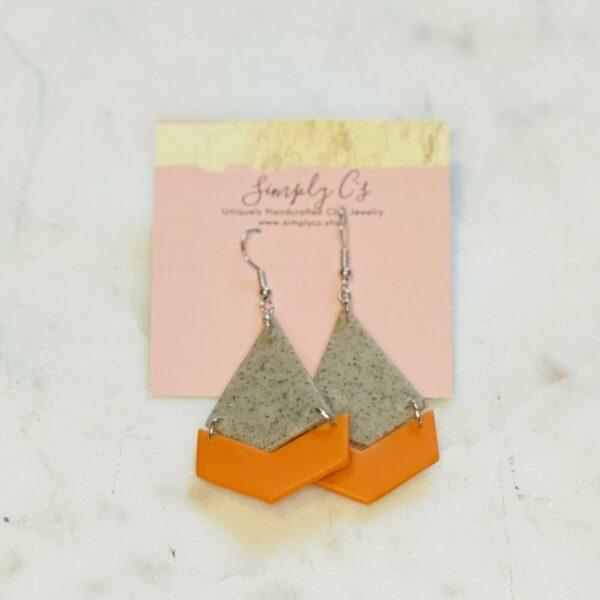 Pumpkin Ivy Earrings
