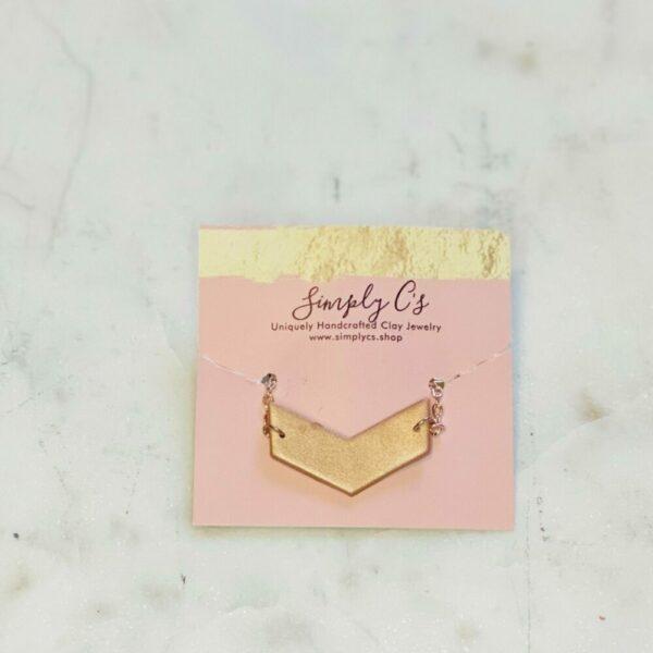 Bronze Arrow Necklace