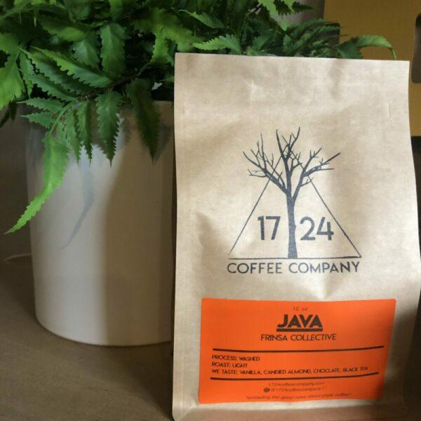 JAVA Frinsa Collective Whole Bean Coffee