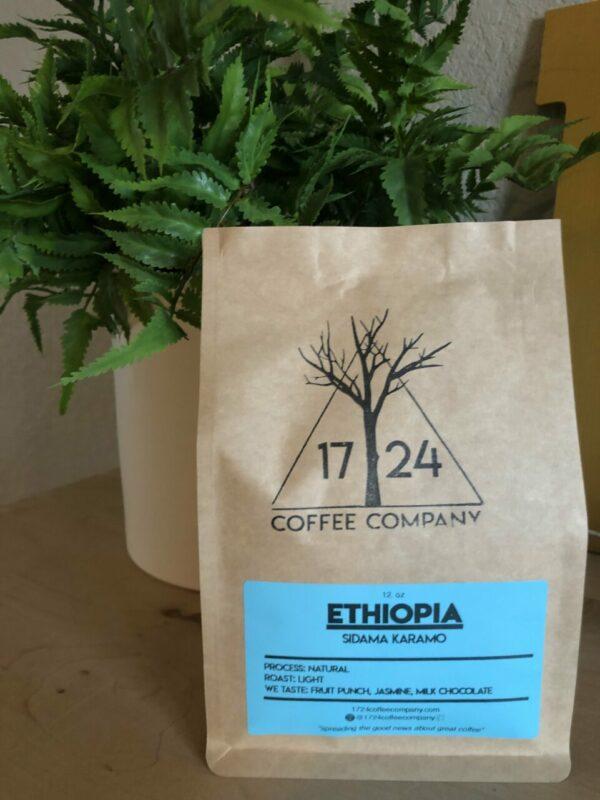 ETHIOPIA Sidama Karamo Whole Bean Coffee