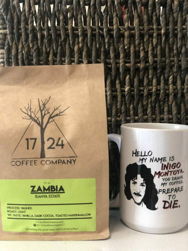 ZAMBIA Isanya Estate Whole Bean Coffee