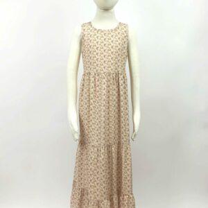rose cotton maxi dress