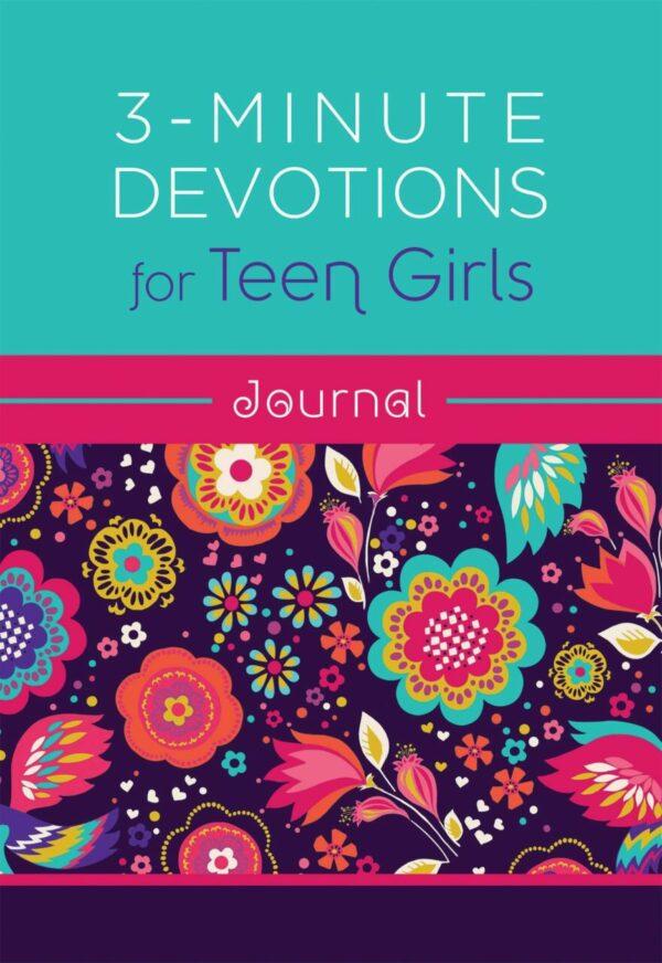 3 Minute Devotions for Teen Girls Journal