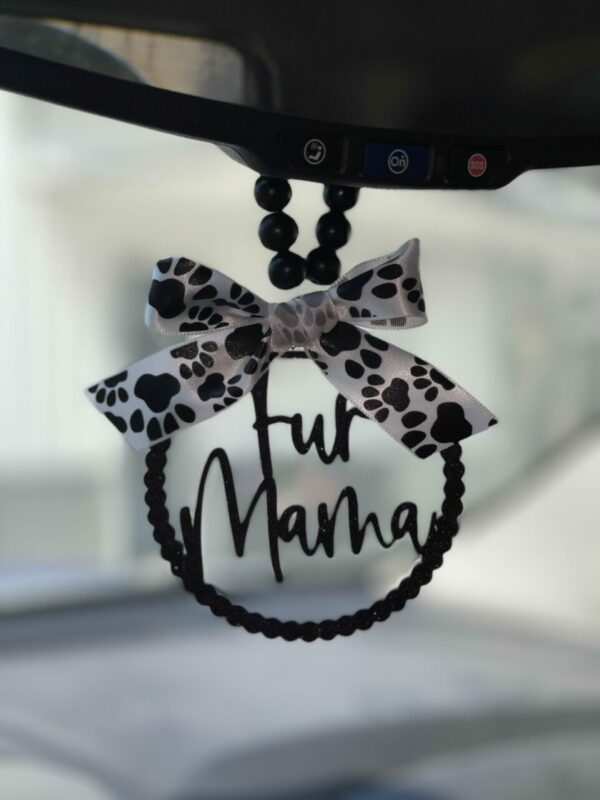 Fur Mama Mirror Charm