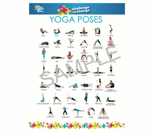 Yoga Poses Poster