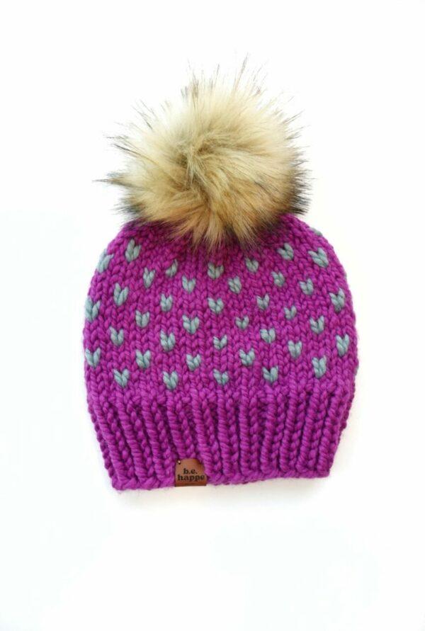 Happe Hearts Hat | Lollipop + Succulent