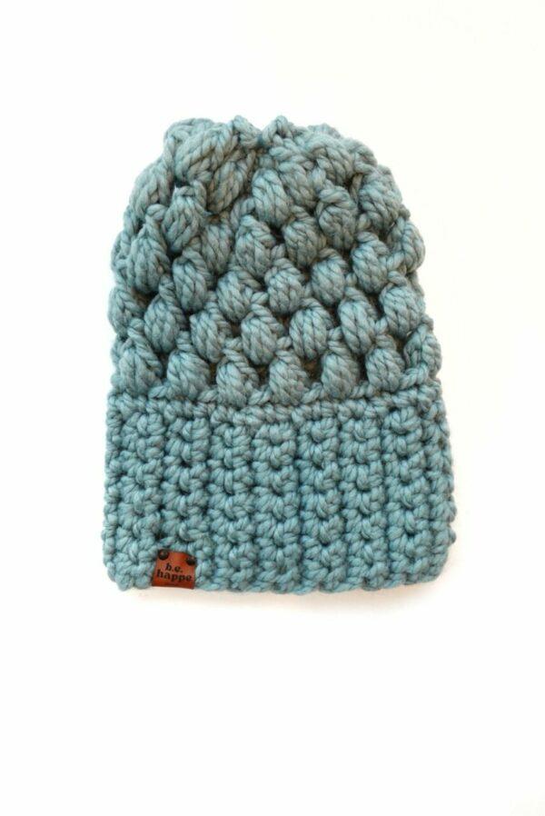 Puff Stitch Slouch Hat | Succulent