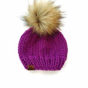 Solid Knit Hat | Lollipop