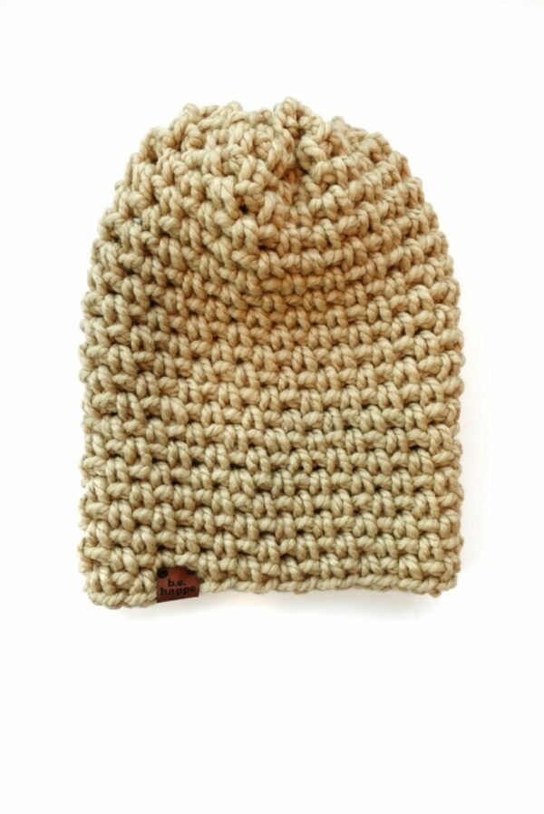 Simple Slouch Hat   Peanut