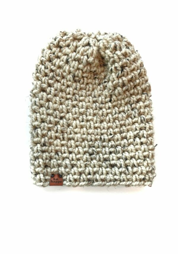 Simple Slouch Hat   Oatmeal