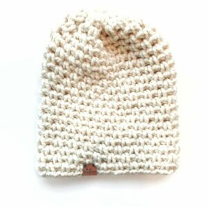 Simple Slouch Hat   Off White