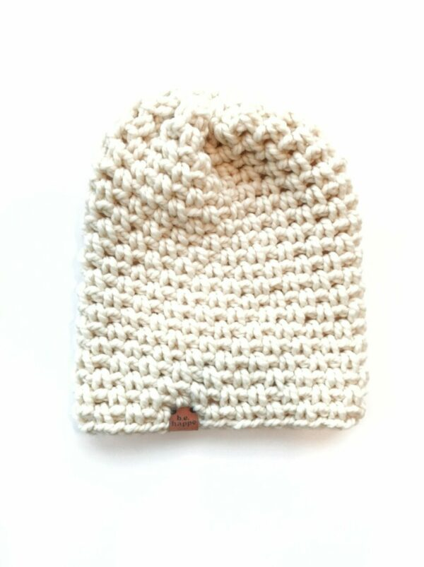 Simple Slouch Hat | Off White