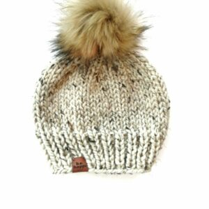 Solid Knit Hat | Oatmeal