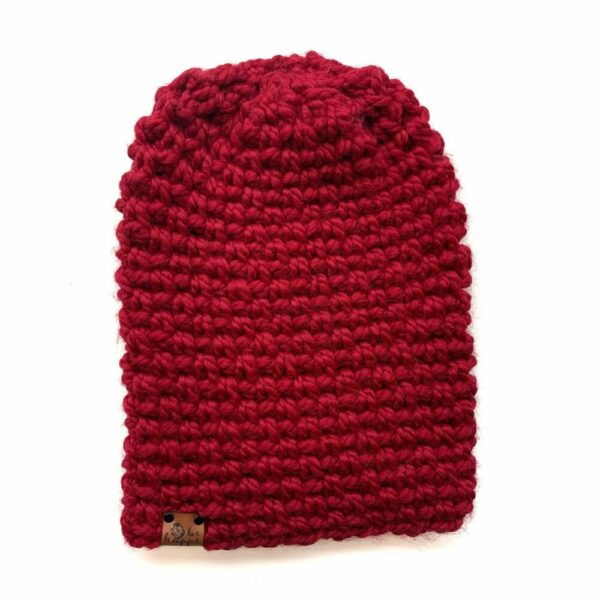 Simple Slouch Hat | Cranberry