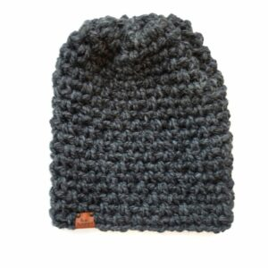 Simple Slouch Hat | Charcoal