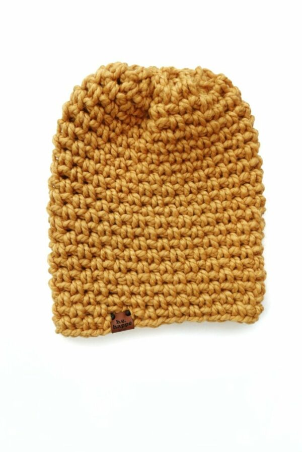 Simple Slouch Hat | Mustard