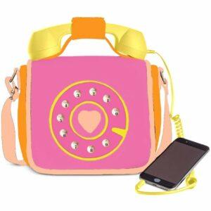 Ring Ring Phone Convertible Handbag Fruity Pink