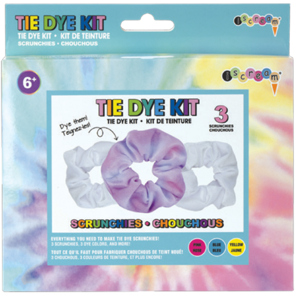 scrunchies tie dye DIY Kit