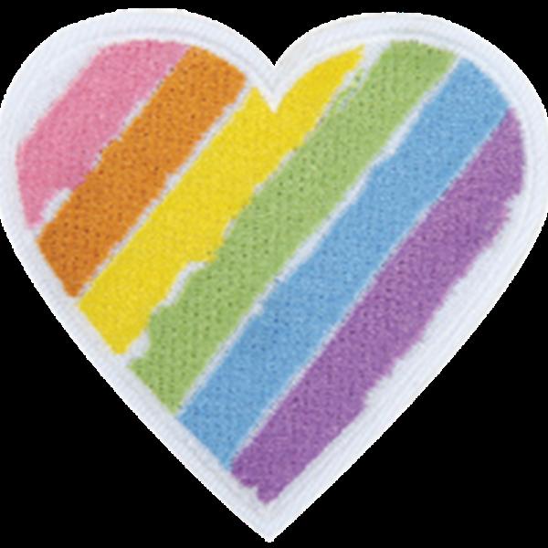 heart tie dye pillow DIY kit