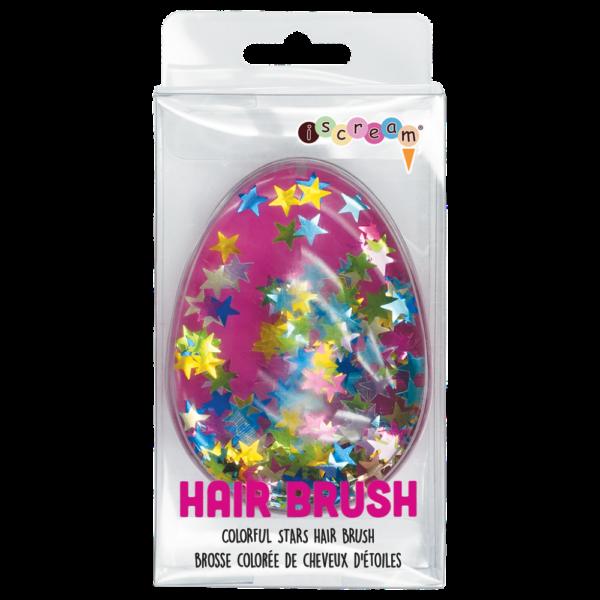 stars hair brush