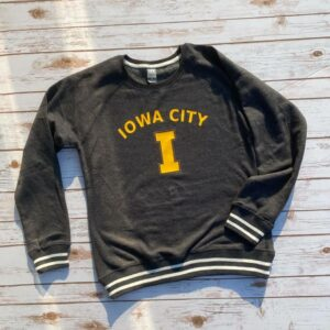 Iowa City I Varsity Sweatshirt