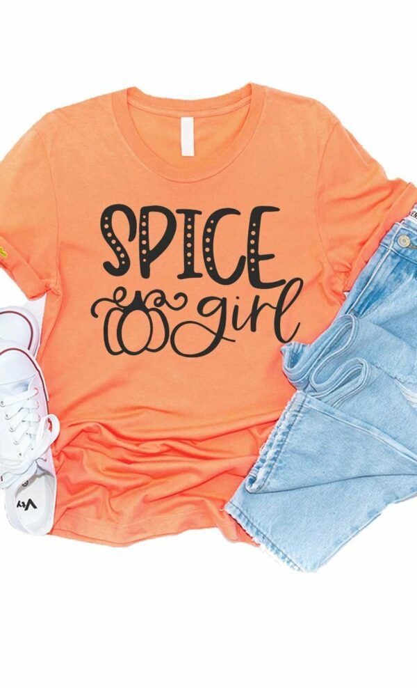 spice girl graphic tee