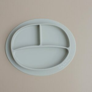 Baby Bar & Co Silicone suction Plates taupe