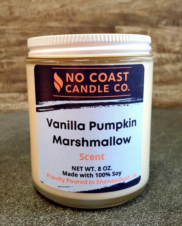 Vanilla Pumpkin Marshmallow Candle