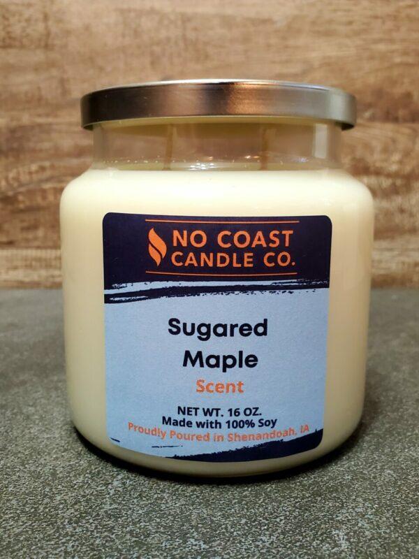 Sugared Maple Candle