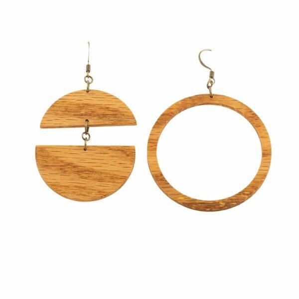 Reflection Hoop Earrings
