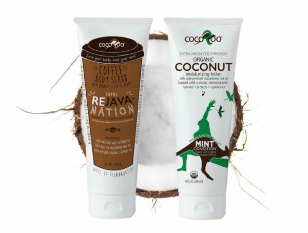 CocoRoo® Total ReJAVAnation Coffee Scrub & Mint Condition Coconut Oil Moisturizer