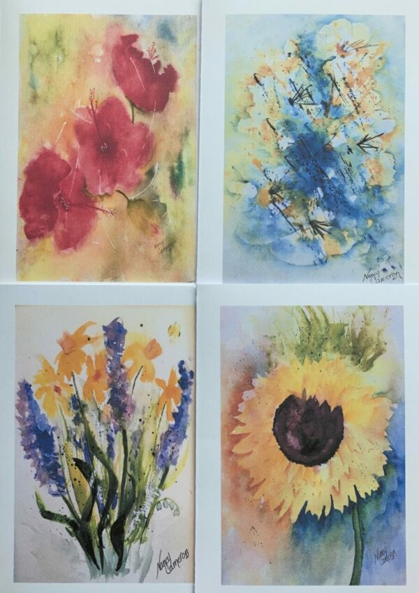 Bright Floral Collection Note Cards