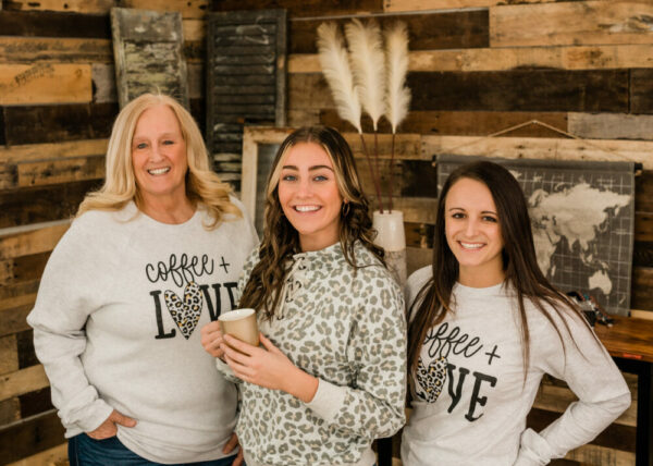 Coffee & Love Crew Sweatshirt