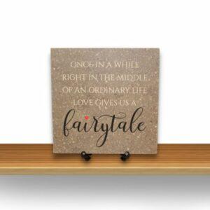 Love Gives Us a Fairytale Corian Tile