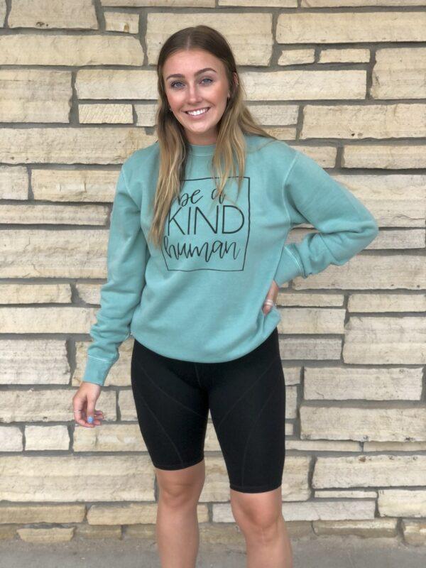 Be A Kind Human Sweatshirt