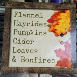 All Things Fall Sign