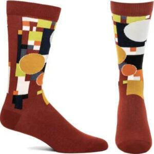 Frank Lloyd Wright Coonley Playhouse Womens Socks