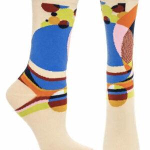 Frank Lloyd Wright Glass Balloon Womens Socks Style 1