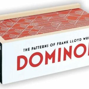 Frank Lloyd Wright Wooden Dominoes