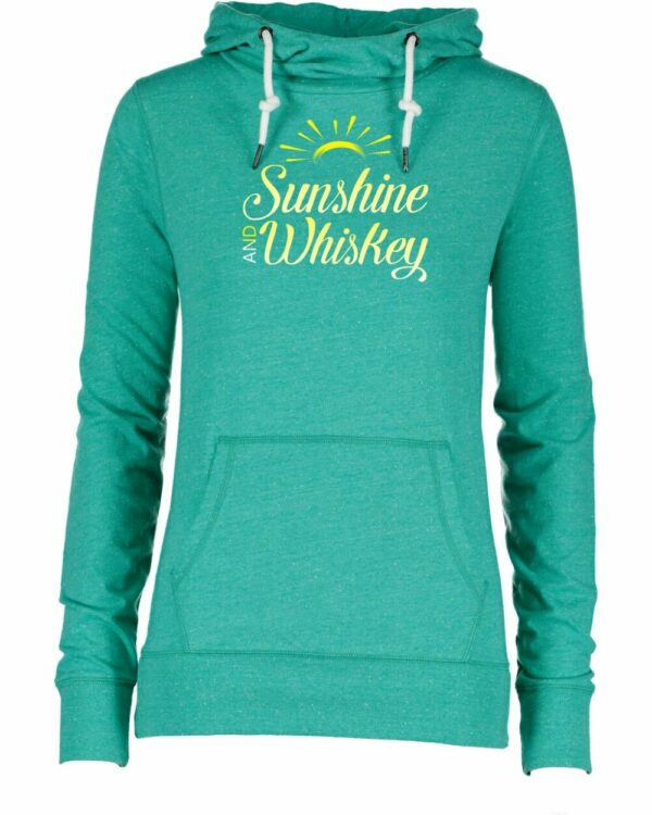 Sunshine and Whiskey Funnel Neck Tee