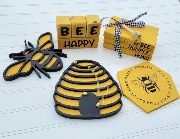 Bee Tiered Tray Take Home Kit