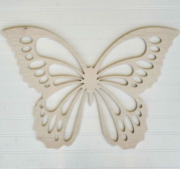 Blank 3D Butterfly