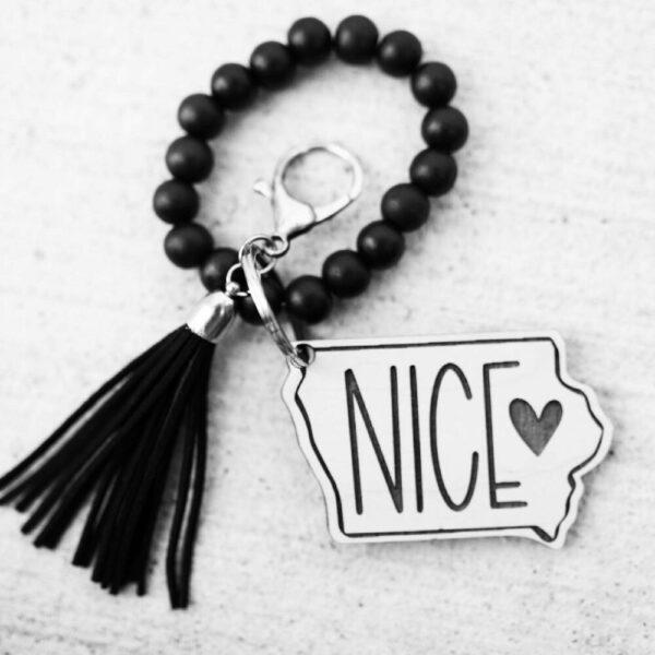 Iowa NICE Keychain
