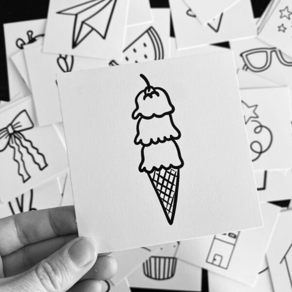 Inspirational SMACK message cards – the {doodle} pack