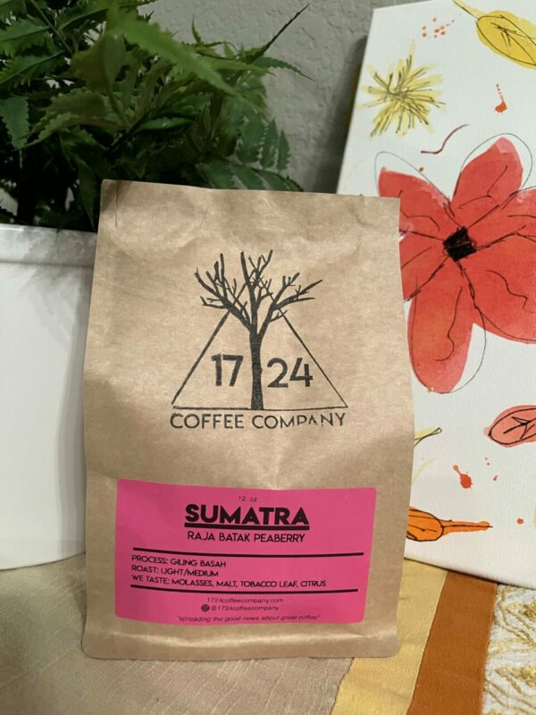 SUMATRA Raja Batak Peaberry Whole Bean Coffee