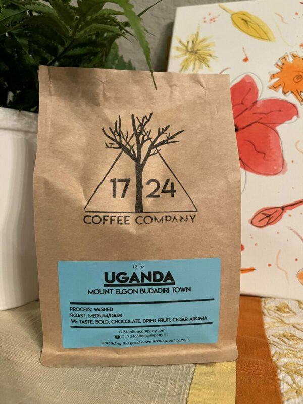 UGANDA Mount Elgon Budadiri Town Whole Bean Coffee