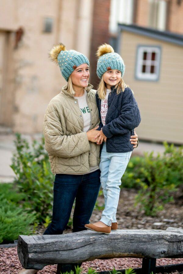 Mommy + Me Happe Heart Hat   Succulent